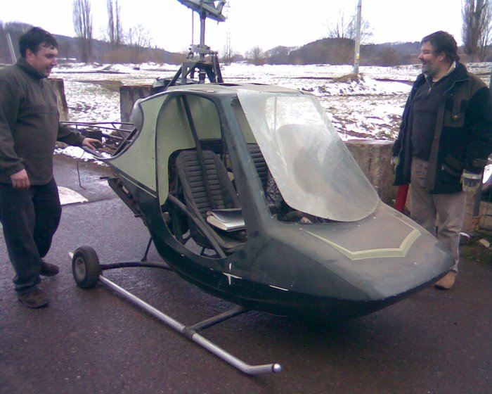 Rotorway Scorpion 133 for Sale http://www.vrtulnik.cz/scorpion.htm